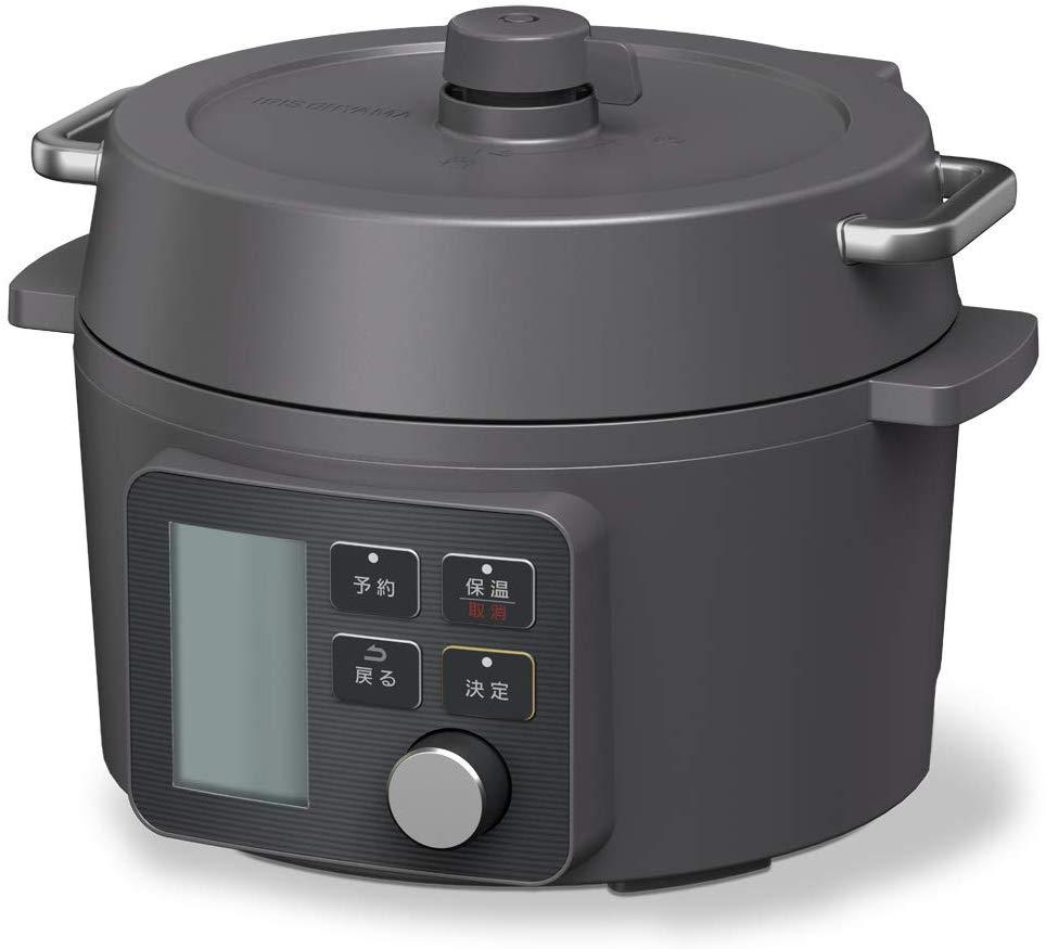 電気圧力鍋 2.2L ブラック KPC-MA2-B